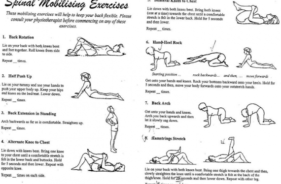 Spinal Mobilising